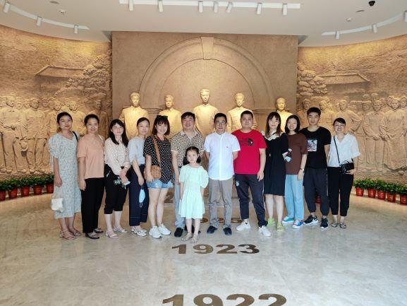 2021.7.14参观中共五大会址2